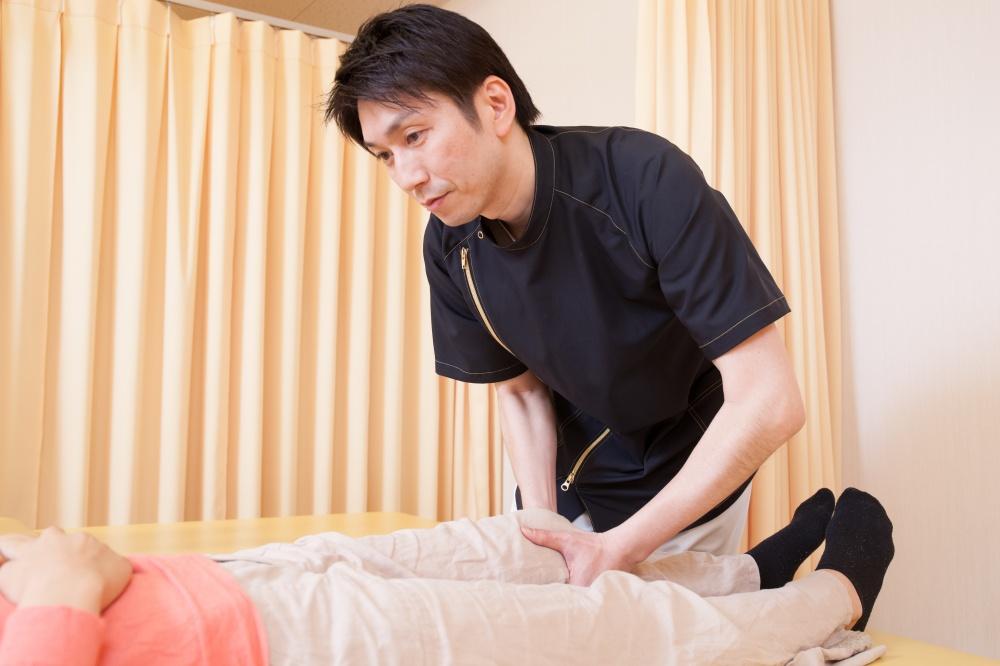 ひざ痛の可動域改善